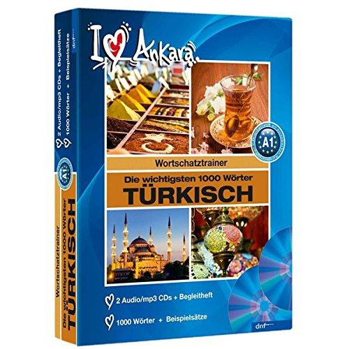 Audiotrainer 1000 Wörter Türkisch: 2 Audio/mp3-CDs + Begleitheft