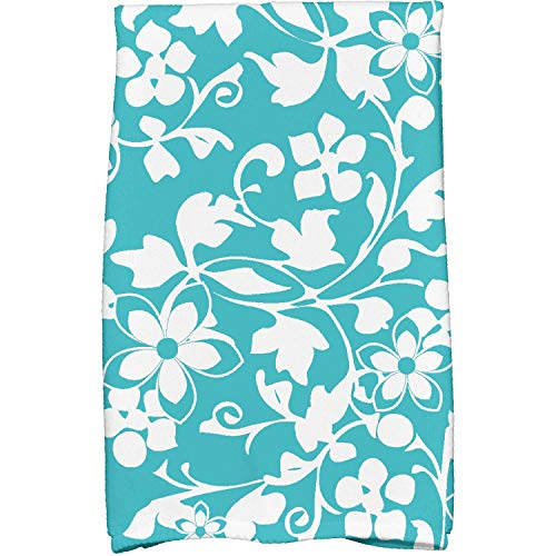 OKSLO 16 x 25 evelyn floral print kitchen towels