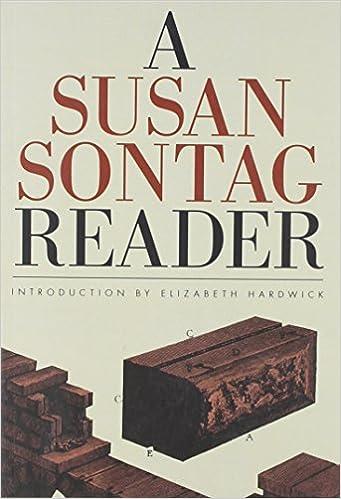 Book A Susan Sontag Reader