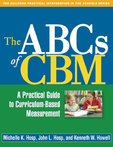 ABCs of CBM: The Guilford Practical Intervention in the Schools Pdf