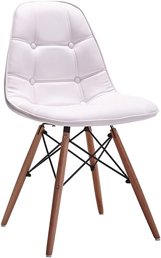 CKH Nordic Household Leather Chair Fashion Modern Casual ...