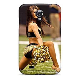 Cute Appearance Cover/tpu NGGAIRG6771qAoYj New Orleans Saints Cheerleaders Outfit Case For Galaxy S4