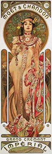 Posters: Alphonse Mucha Poster Art Print - Moët Et Chandon, 1899 (36 x 12 inches)