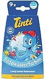 Tinti Badewasserfarbe 9er Pack (je 3x blau, gelb, rot)
