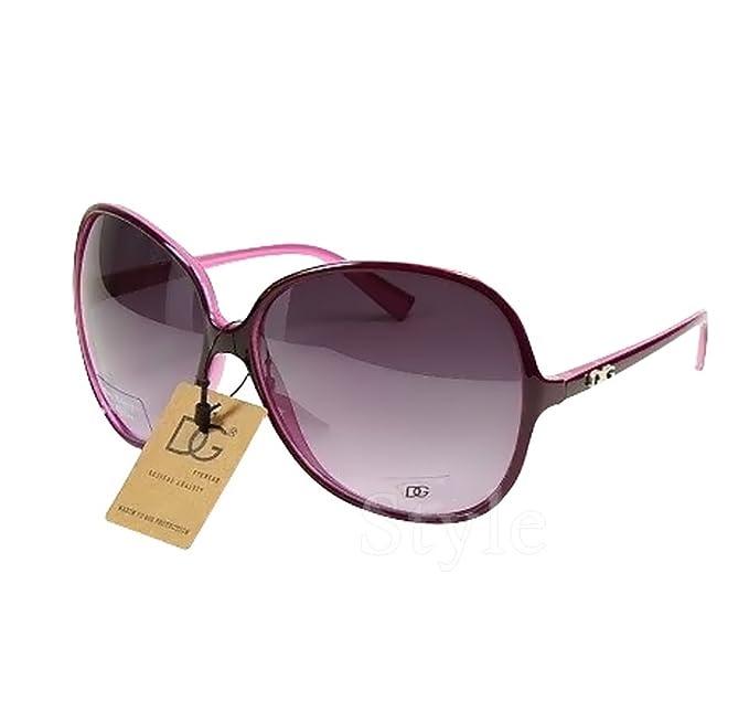 DG Eyewear ® Gafas de Sol mujer Moda morado - Nuevas con ...