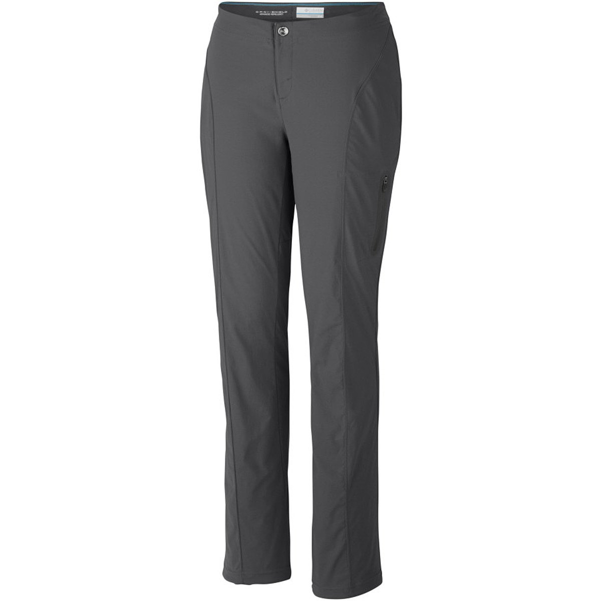 Columbia Women's Just Right Straight Leg Pant, Grill, 6R