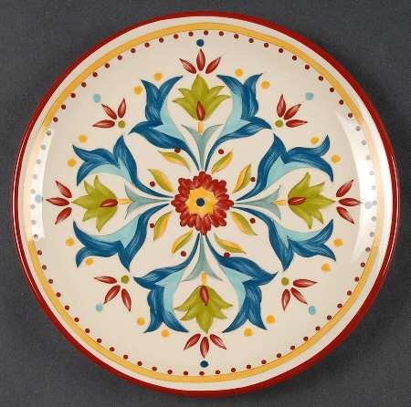 Bobby Flay Sevilla Salad Plate, Fine China Dinnerware