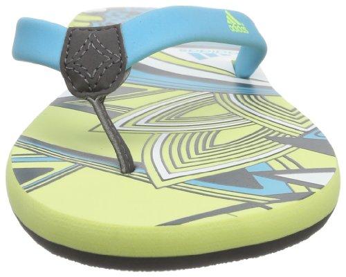 adidas Performance Chilwa 2 M22174 Damen Dusch- & Badeschuhe Grau (Sharp Grey F11/Samba Blue S14/Running White Ftw)