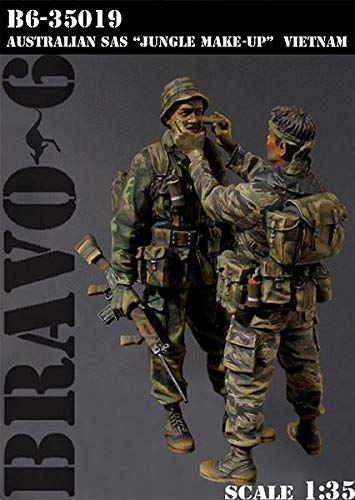 Bravo6 1/35 Scale Jungle Make-up Australian SAS Vietnam