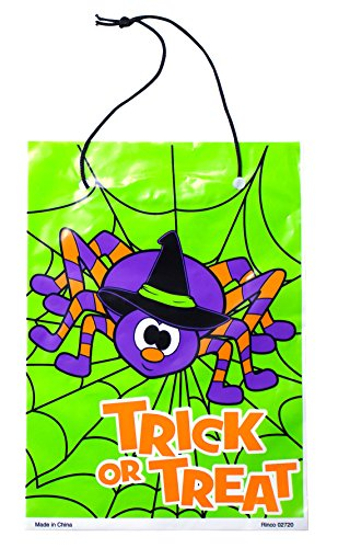 Drawstring Halloween Trick or Treat Bags (36 Pack) Plus Non-Negotiable Million Dollar Bill by Imprints Plus (Spider)]()