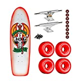 Dogtown Skateboard OG Rider Red Dog Red Fade INDEPENDENT Trucks BONES Wheels