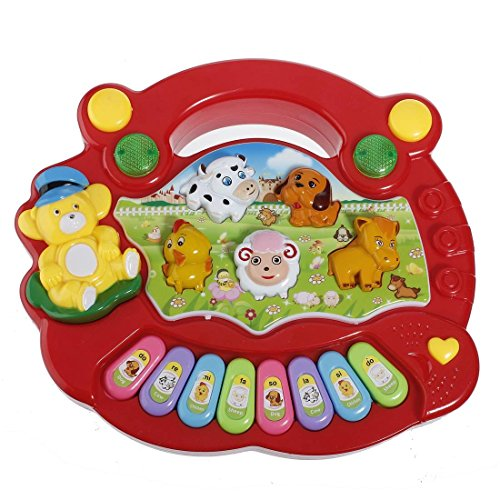 dipshop-baby-kids-animal-farm-keyboard-electrical-piano-child-musical-toy