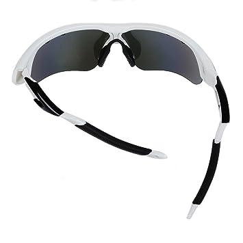 Valorcielo polarisées UV 400 protection Lunettes de sport avec 5 objectifs  interchangeables pour homme femme, Safety Eyewear Lunettes de sport pour  cyclisme ... 3e3c879c0afc