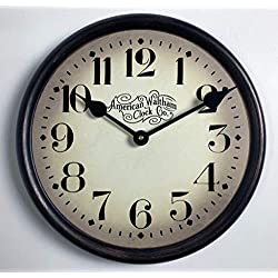 Houston Parchment Wall Clock, Available in 8 Sizes, Most Sizes Ship The Next Business Day,