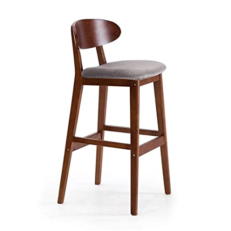 Brilliant Amazon Com Zr Chair Retro Minimalist Bar Stool High Stool Lamtechconsult Wood Chair Design Ideas Lamtechconsultcom