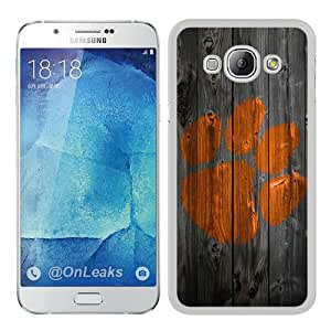 Fashionable design NCAA Atlantic Coast Conference ACC Footballl Clemson Tigers 7 White Samsung Galaxy A8 Case Cover