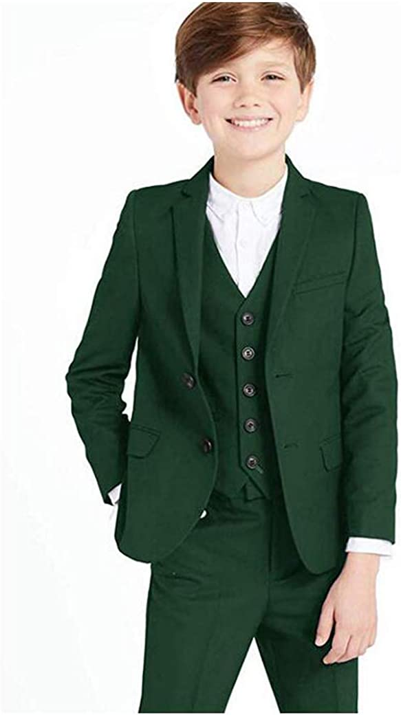 Classic 3 Piece Formal Boys Suits Set Silm Fit Dresswear Boy Suit