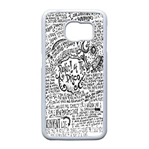 Samsung Galaxy S6 Edge case(TPU), panic at the disco lyric quotes Cell phone case White for Samsung Galaxy S6 Edge - HHKL3324632