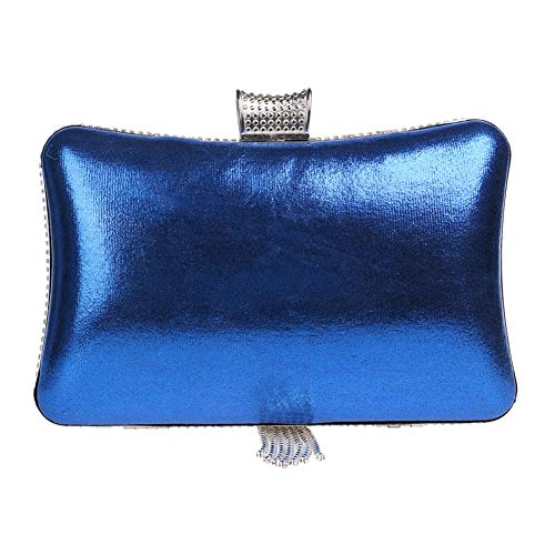 Chain Clutch Dress Purse Handbag Evening Bags For Fringe Blue Womens Wedding Yqdg0Y