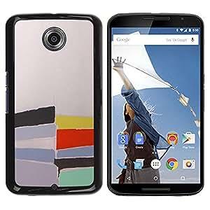 Be Good Phone Accessory // Dura Cáscara cubierta Protectora Caso Carcasa Funda de Protección para Motorola NEXUS 6 / X / Moto X Pro // Pastel Abstract Watercolor Painting
