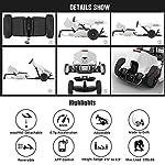 LXDDB-Kit-Ninebot-GoKart-per-Segway-miniPRO-Transporter-Scooter-autobilanciante-Incluso-Big-Ride-on-Car-Toy-per-Bambini-e-Adulti