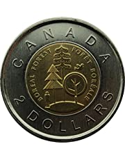 2011 $2 Boreal Forest Commemorative Parks Toonie (1 uncirculated Coin)