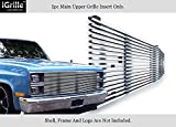APS Stainless Steel 304 Billet Grille Grill Custome Fits 1981-87 Chevy C/K Pickup/Suburban/Blazer