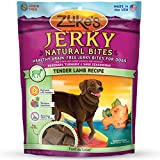 Zuke's Jerky Natural Bites Dog Treats, Tender Lamb Recipe, 6-Ounce
