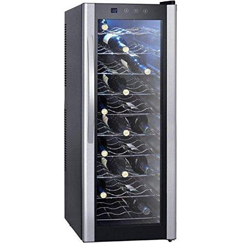 Syntrox Germany Chef K/ühler Wine Cooler Refrigerator for 30 Bottles