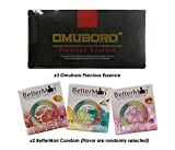 A ManPower Health (3 Pack) Omuboro Precious Essence with (2 Box) BetterMan Energized Condom