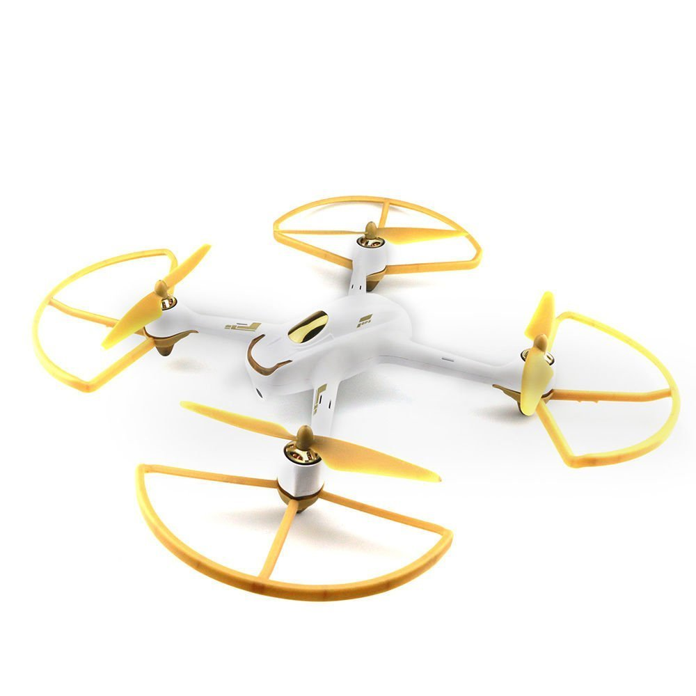 UUMART Hubsan H501S H501C X4 FPV Racing Quadcopter Spare Parts Protective Cover Frame Golden H501S-24
