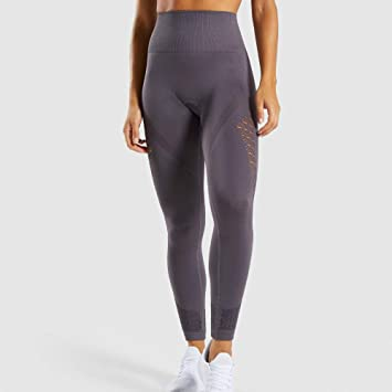MJXVC Mujeres New Energy Seamless Leggings Cintura Alta ...