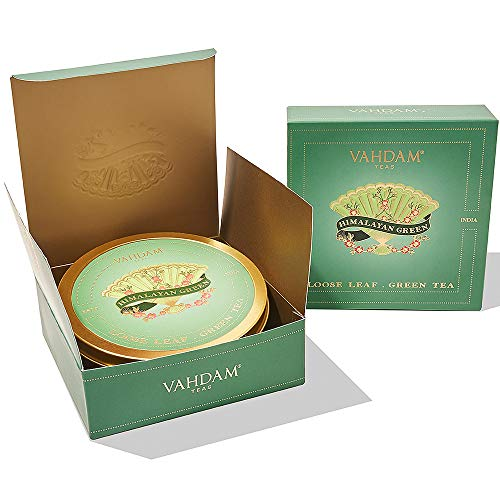 VAHDAM, Himalayan Green Tea Gift Set | 100% Natural Ingredients | Packed at Source in India | Best Holiday Gifts Set | Tea Sets for Tea Lovers | Green Tea Gift Set (Unique Wedding Gifts For Couples In India)