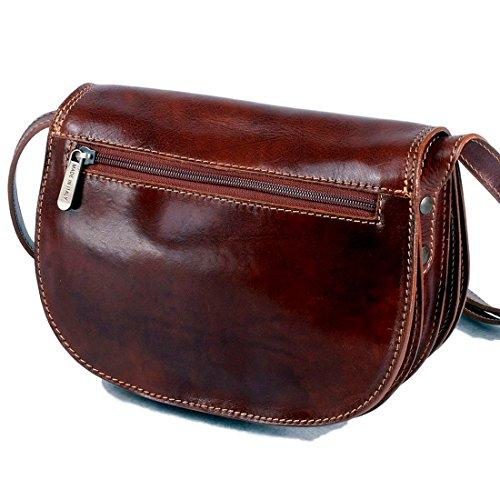 Medium Brown Michelangelo H19 Calf 5 Cm 26x7 Italy Genuine skin Vintage black Leather Bag HOqXgrO