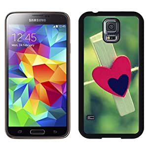 Love Clothespin Durable High Quality Samsung Galaxy S5 Case