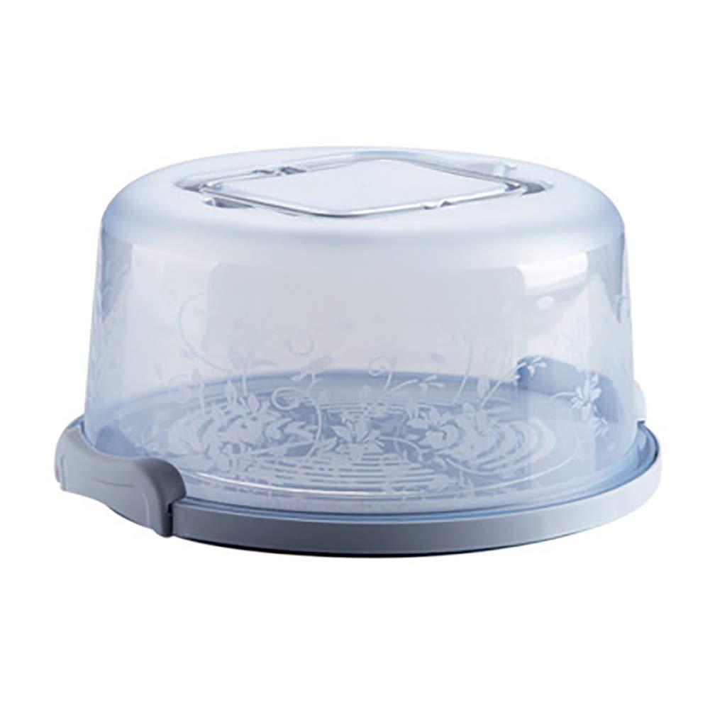 Hilai Torta Portatile e Cupcake Carrier con maniglia bagagli contenitore perfetto per il trasporto Torte Cupcakes torte o altri dolci-Azzurro