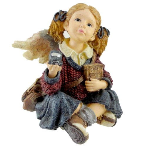 Boyds Bears Resin CARRIE B SAFE CALL WHEN YOU G 36007 Angel Wee Folkstone New