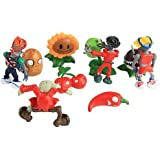 Full-Link PLANTS VS ZOMBIES CHARACTER FIGURE SETS - 8 DIFFERENT SETS - UK SELLER (Set A) by Full-link