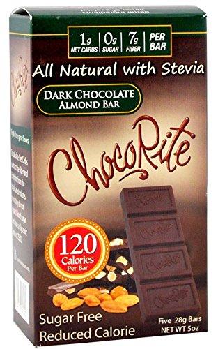 HealthSmart Sugar Free ChocoRite Bars Chocolate