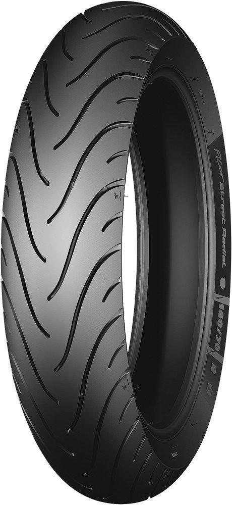 Michelin Pilot Street Radial Tire - Rear - 140/70R-17 , Position: Rear, Rim Size: 17, Tire Application: Sport, Tire Size: 140/70-17, Tire Type: Street, Load Rating: 66, Speed Rating: H, Tire Construction: Radial 29590