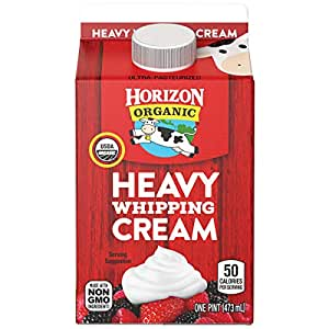Horizon Organic, Heavy Whipping Cream, Pint, 16 oz
