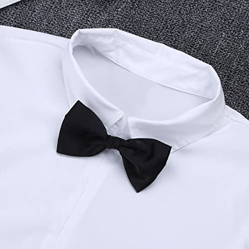TiaoBug Camisa Manga Larga para Hombres Camisa Negocio Básica ...