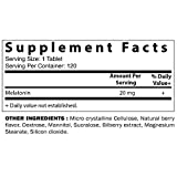 Vitamatic Melatonin 20mg Fast Dissolve 120