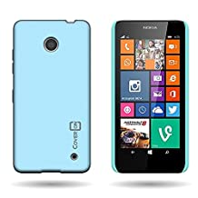 Lumia 635 Case, CoverON® for Nokia Lumia 635 Hard Case [Slender Fit Series] Ultra Slim Polycarbonate Back Phone Cover with Matte Non-Slip Grip Coating - Sky Blue