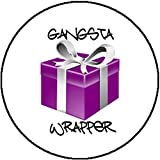 Color Badge Button Gangsta Wrapper Rapper Gangster Cute Silly Pun Present Gift