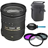 Nikon 18-200mm f/3.5-5.6G AF-S ED VR II Nikkor Telephoto Zoom Lens + Deluxe Accessory Kit