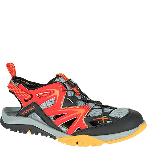 Merrell Men's Capra Rapid Sieve Water Shoe, Bright Red, 11.5 M US