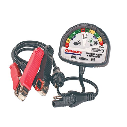 OPTIMATE TS120N Battery Level and Charging System Tester / Alternator
