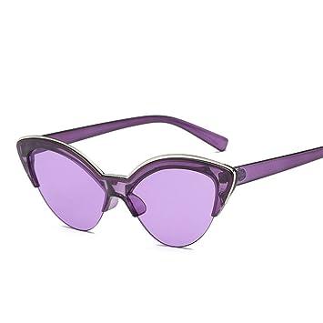 ZRTYJ Gafas de Sol Cat Eye Gafas de Sol Mujeres Diseñador de ...