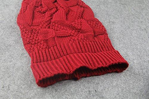 de de lana montón Gris Sombreros elásticos Sombreros opuesta tejida lateral gorrita de Sombreros hop punto unisex de hip PC6dP1xqw